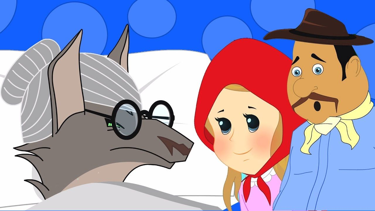 Little Red Riding Hood Stories For Kids In Hindi Bedtime Story