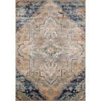 Photo of Momeni Amelia Navy 8 ft. x 10 ft. Indoor Area Rug-AMELIAM-03NVY7A9A – The Home Depot