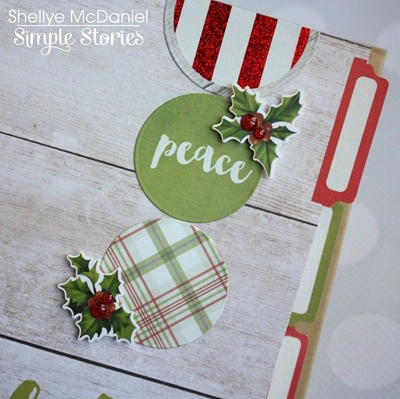 Papered Cottage by Shellye McDaniel: Simple Stories & Tombow: A Claus & Co. Planner