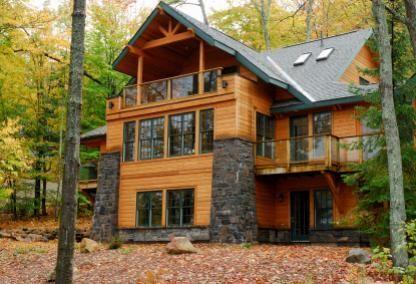 Casey Shultz And Bradley Johnson S Wedding Website Alaska House Alaskan Homes Log Homes