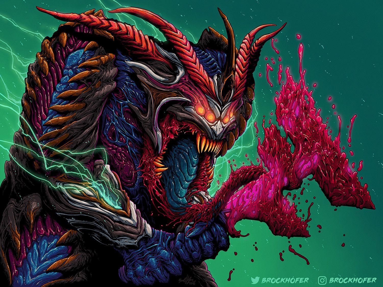Brock Hofer Desktop Wallpapers Hyper Beast Wallpaper Beast Wallpaper Badass Art