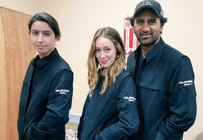 FEAR THE WALKING DEAD - Lorenzo James Henrie, Alycia Debnam-Carey and Cliff Curtis