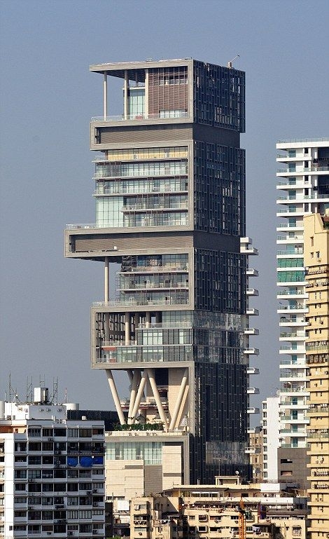 Antilia Named After A Mythical Island Is Said To Have A