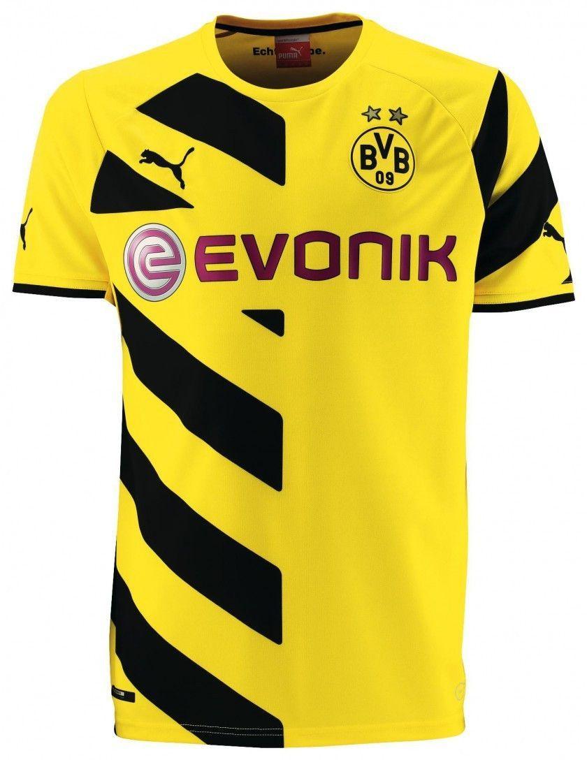 Men S Puma Borussia Dortmund Home Replica Jersey Soccer Jersey Borussia Dortmund Soccer Shirts