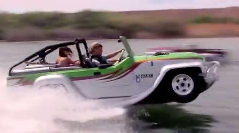 Video : WaterCar Panther