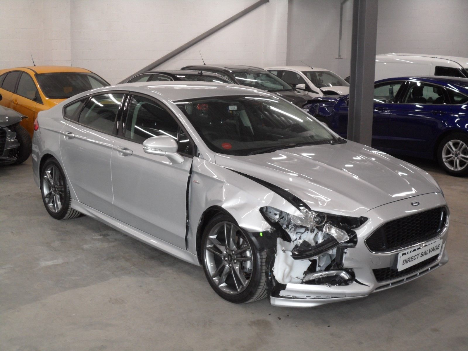 Repairable Cars For Sale >> eBay: 2017 67 REG FORD MONDEO ST-LINE 2.0 TDCI SILVER salvage damaged repairable #carparts # ...