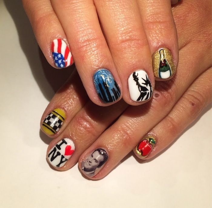 New Years Eve Nail Art Inspiration - Not Your Average Soccer Mom ...