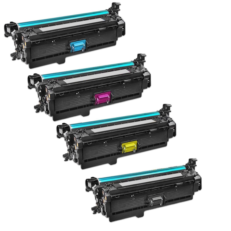 N Compatible 1Set CE260A CE261A CE262A CE263A Toner Cartridge For HP Color LaserJet HP 4525 4025 Printer