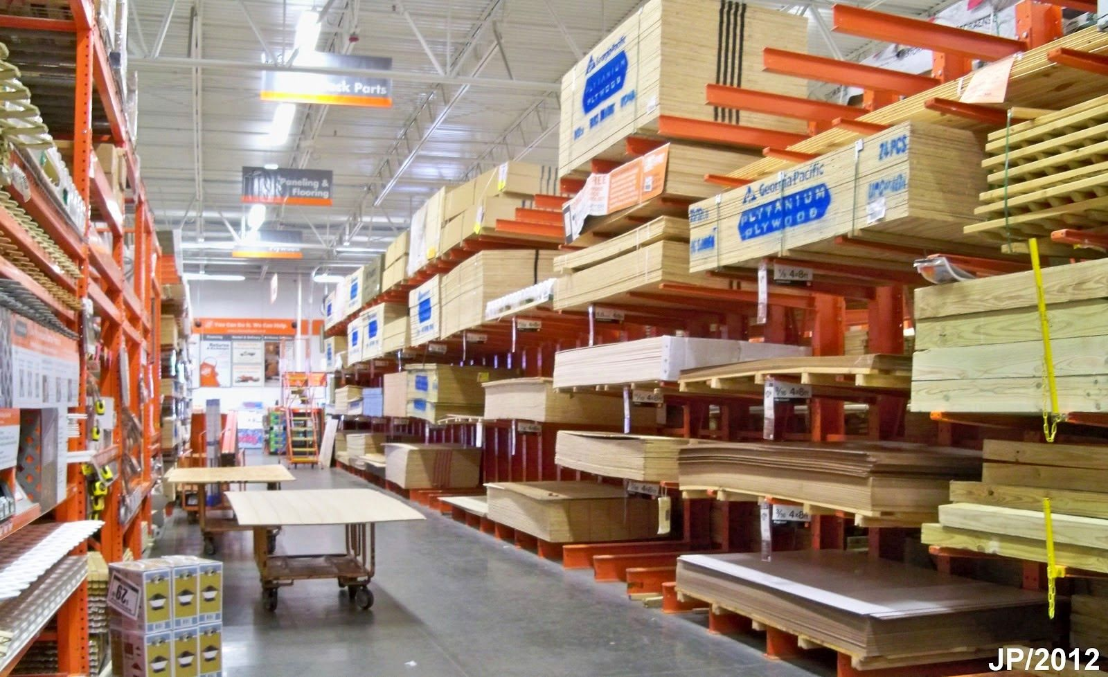 Home Depot Improvement Store Building Materials