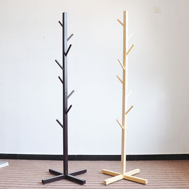 Source Hot Sale Wooden Diy Coat Rack Stand Eco Friendly Home