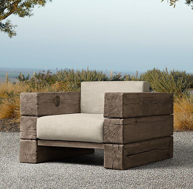 Restoration Hardware Florida: Aspen Lounge Chair