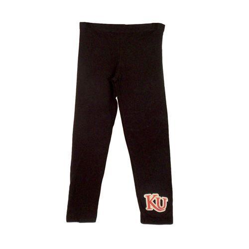 Black KU Leggings - #KUStyle $19.99