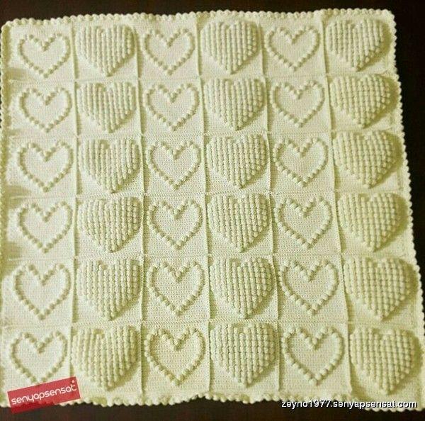 Bebek battaniyesi | crochet | Pinterest | Mantita bebe, Puntos ...