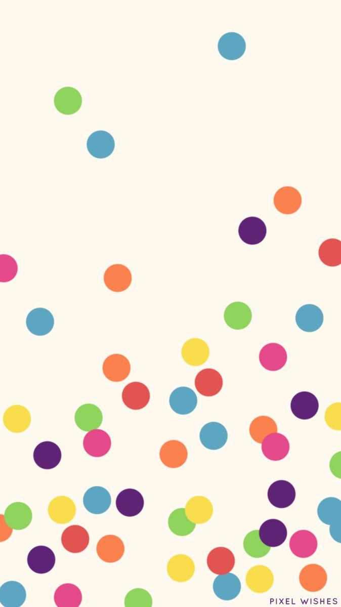 Rainbowconfettidotwallpaper Kate Spade Wallpaper Best Iphone