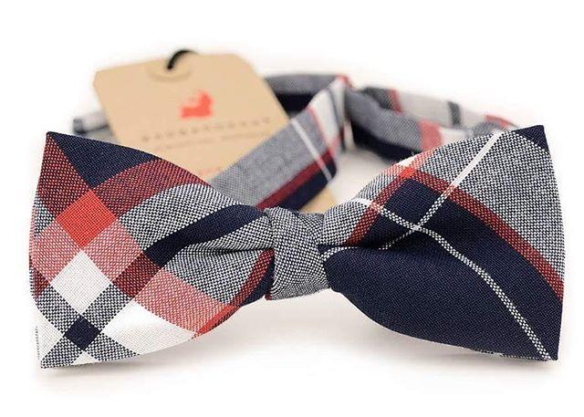Cool bowties from Barbarossa Neckwear #wedding #tie #bowtie #handmade #guy_style #formal #plaid