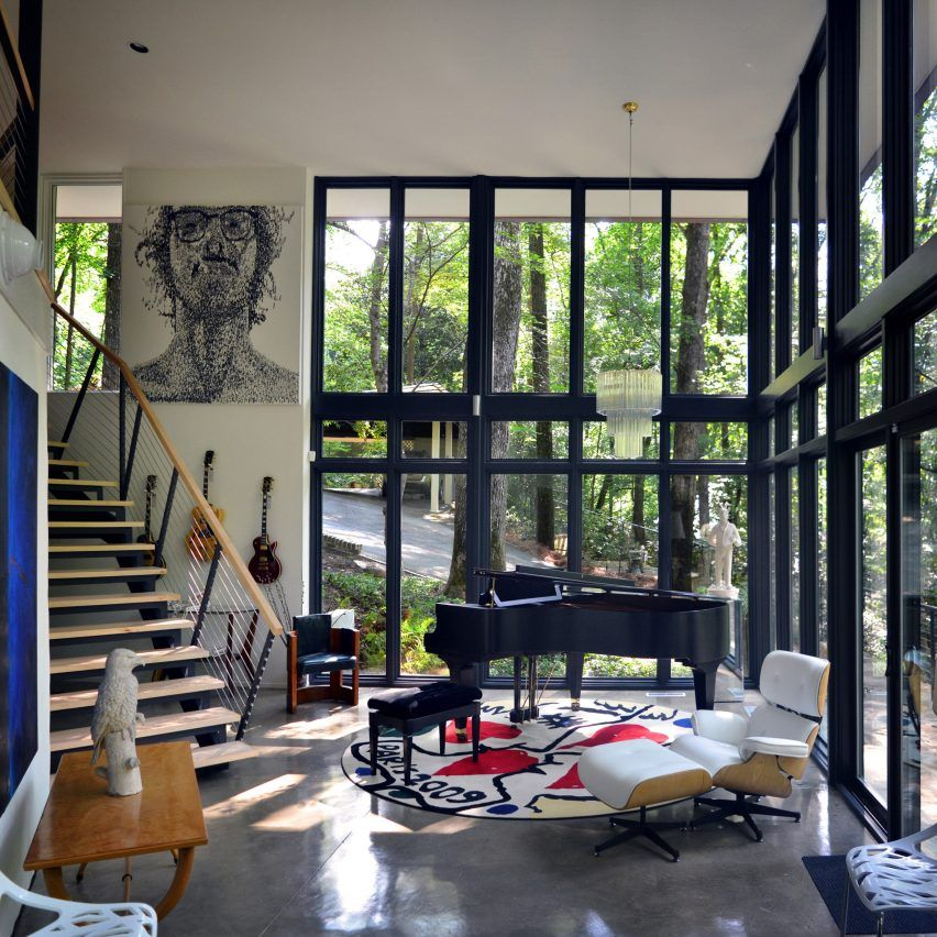 Design Initiative Overhauls Modernist Alabama Home With Images