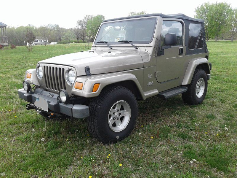 2004 Jeep Wrangler Sahara For Sale By Owner Spotsylvania Va