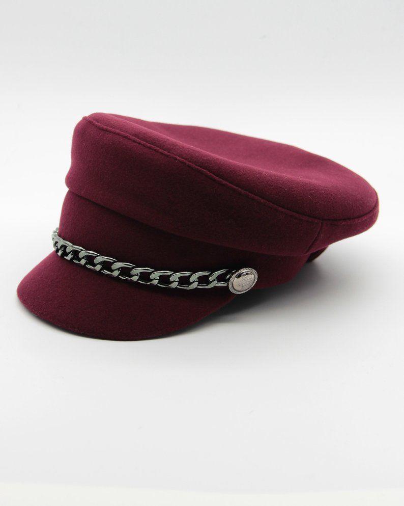 ee2c0ddc Women's cashmere fiddler cap, breton cap | Breton cap\Baker boy cap | Baker  boy cap, Cap и Newsboy cap