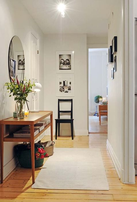 Hallway HOME Pinterest Apt ideas, Logs and Interiors