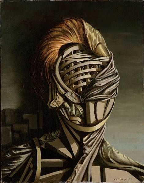 Kay Sage, Small Portrait 1950 www.transitionresearchfoundation.com