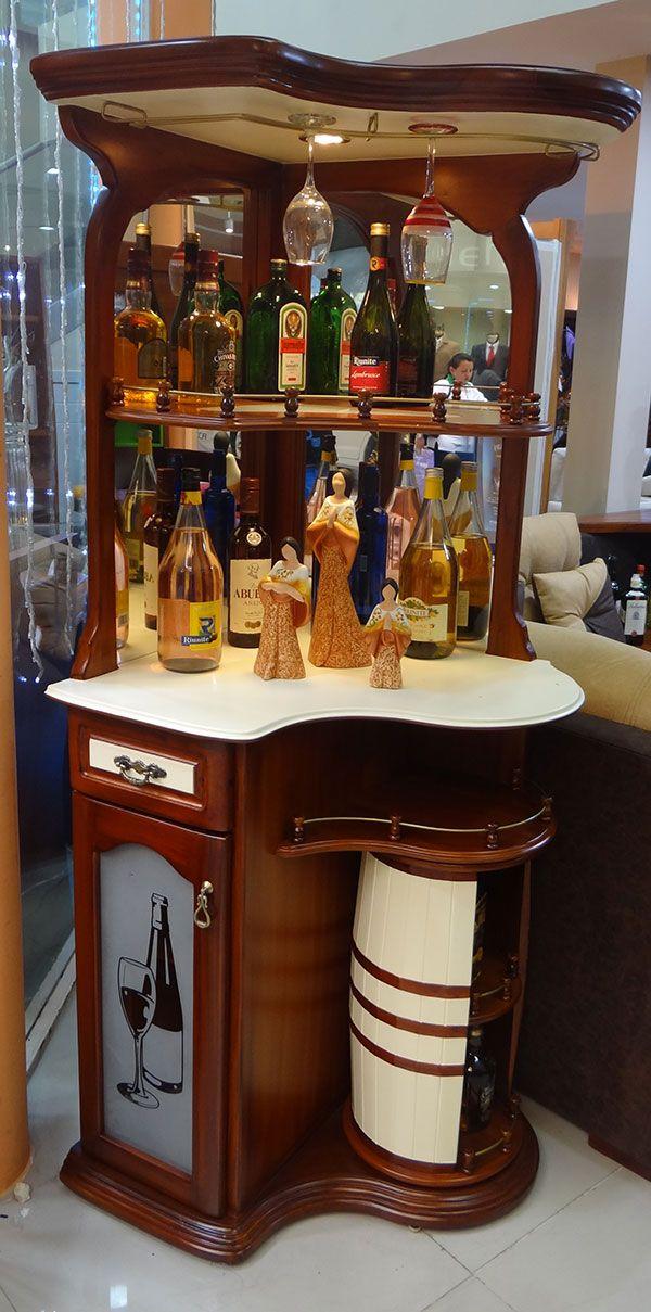 Resultado de imagen para bares esquineros muebles for Bar madera esquinero
