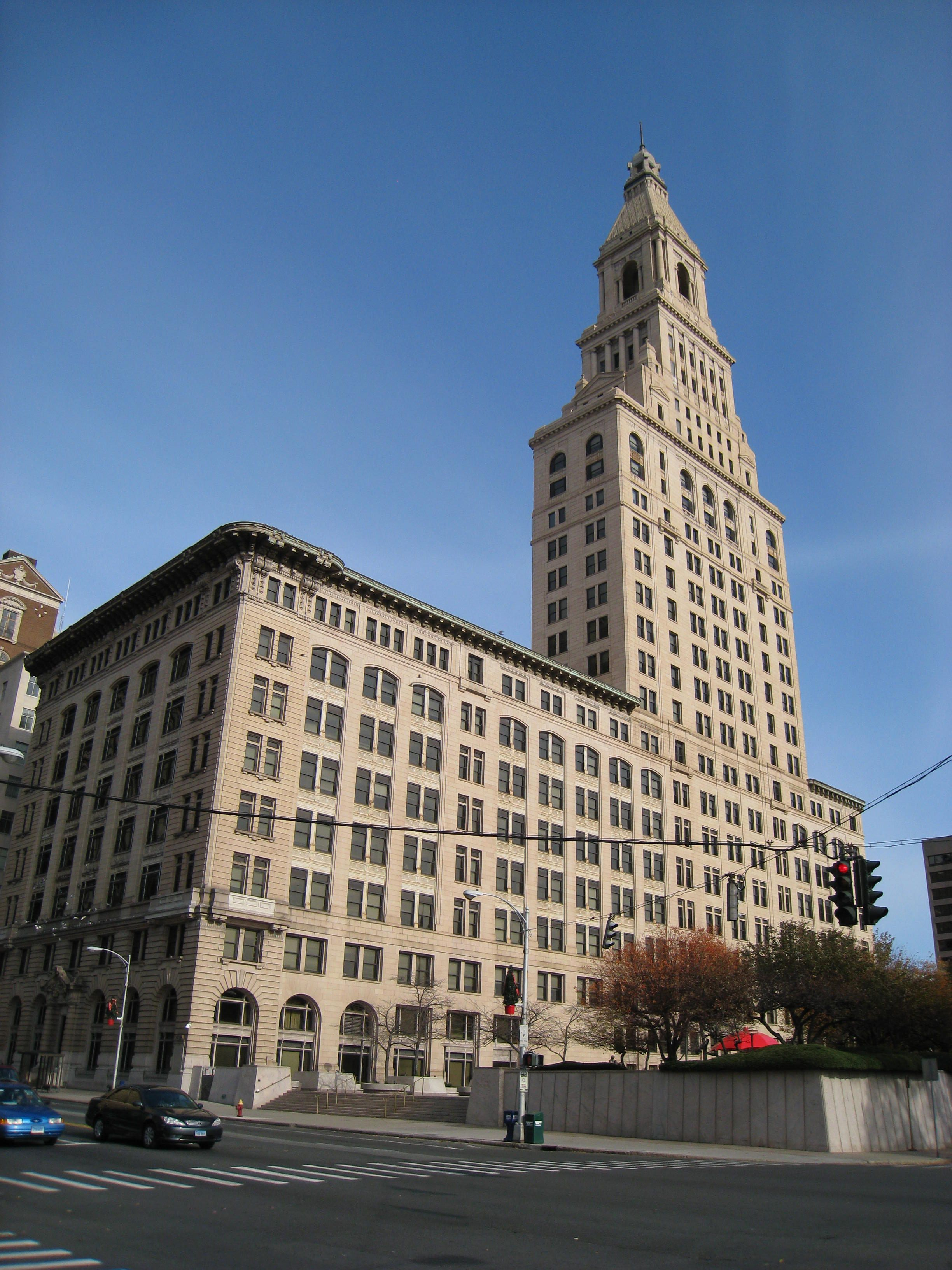 Art Deco This Is A Travelers Tower In Hartford Ct The