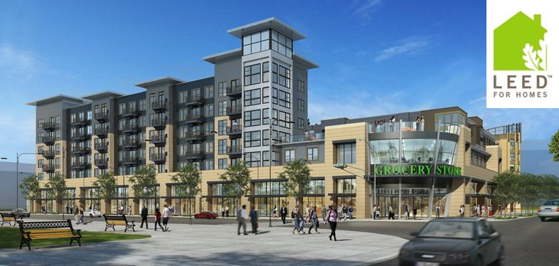 Mid Rise Apartment Buildings Similar Bldg Height Setback Requirement On Mississippi
