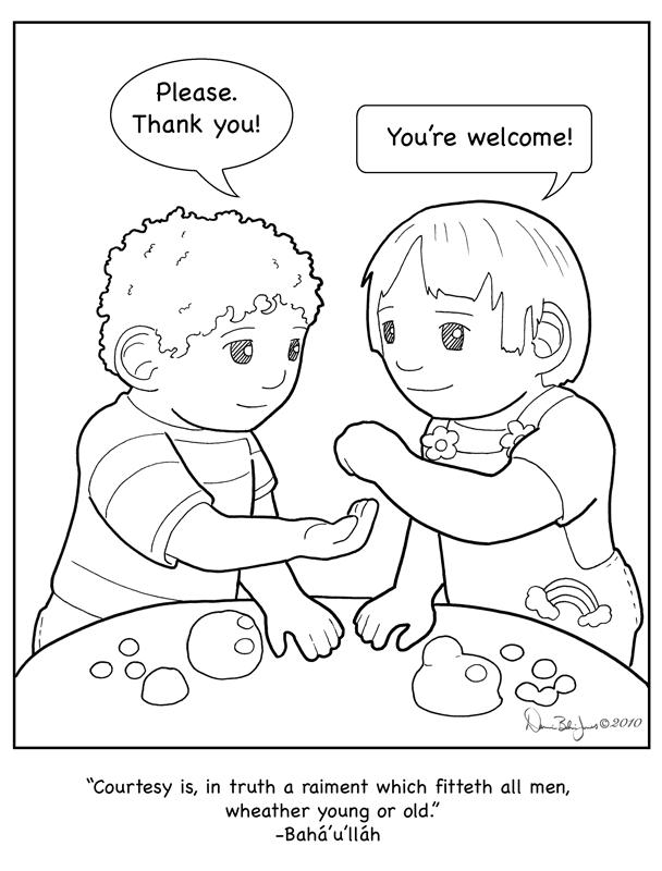 Courtesy Color Page By Familiaroddlings Coloring Worksheets For Kindergarten Kindergarten Colors Coloring Pages