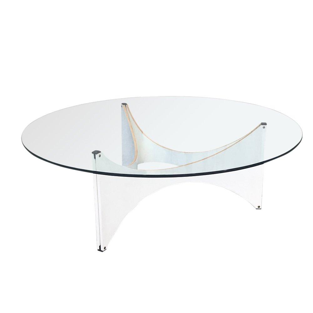 Round Glass Tz75 Coffee Table By Werner Blaser For T Spectrum 1960s 114039 Round Glass Coffee Table Coffee Table Glass Coffee Table [ 1000 x 1000 Pixel ]