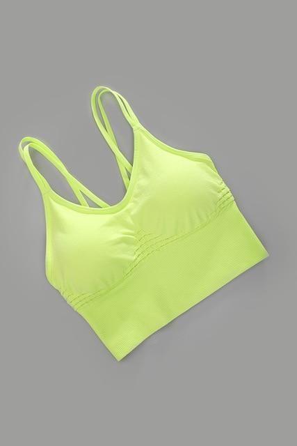 #Active #Bra #Brassiere #Crop #Cross #Fitness #Gy #Sport #Sport Bra yoga #Sports #Top #Wear #Woman #...