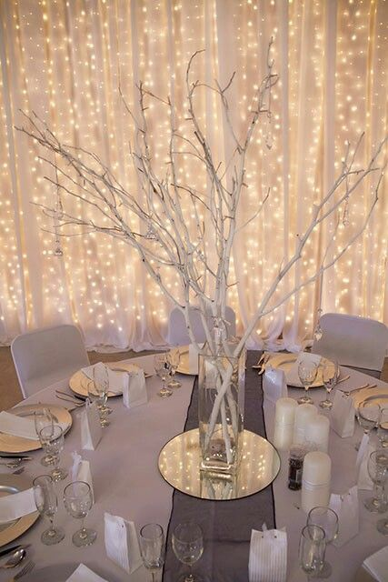 Photo of Winter Lights Wedding Reception Ideas