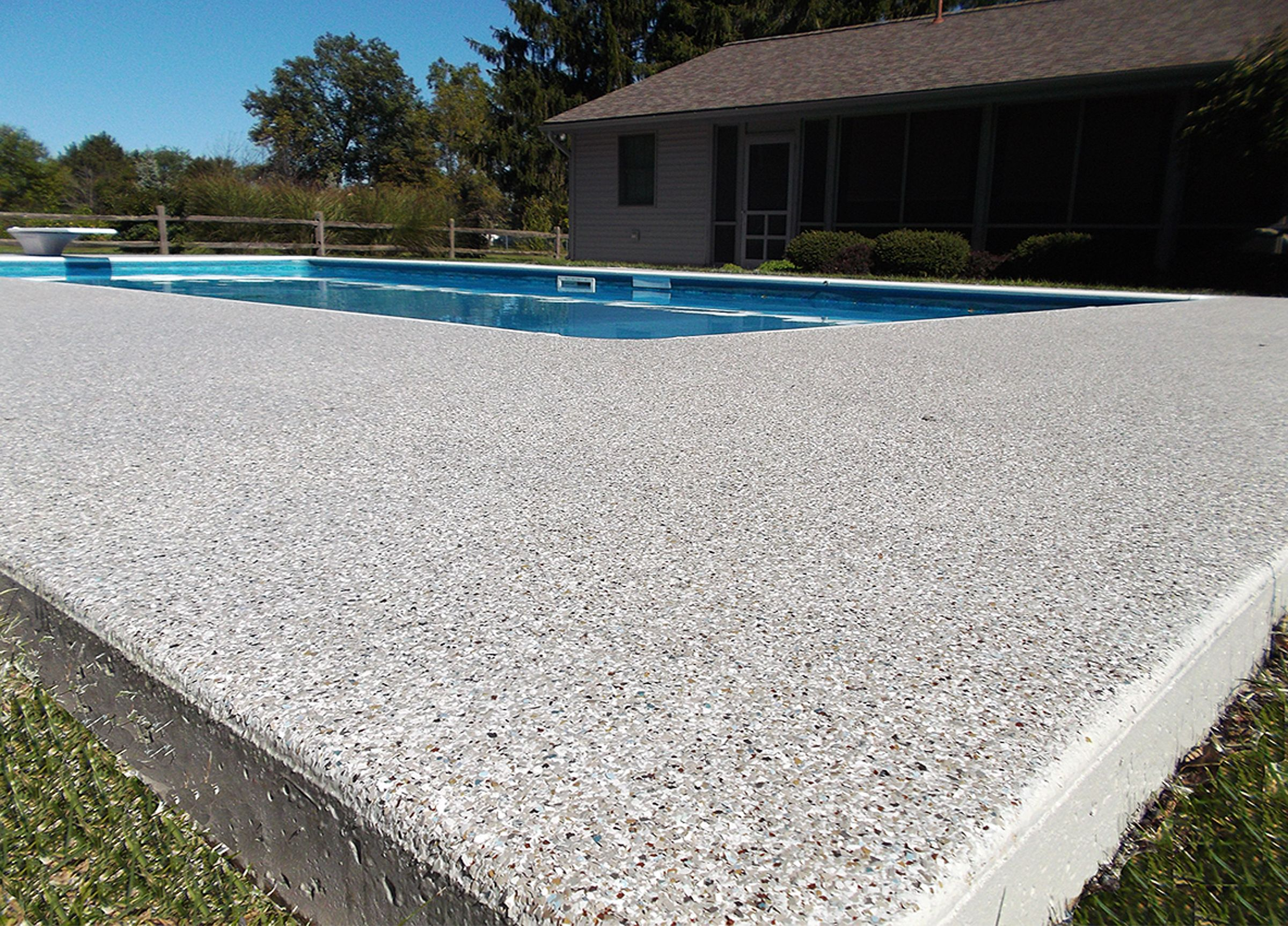 Concrete Pool Deck Ideas pool deck richmond Find This Pin And More On Pool Deck Designs
