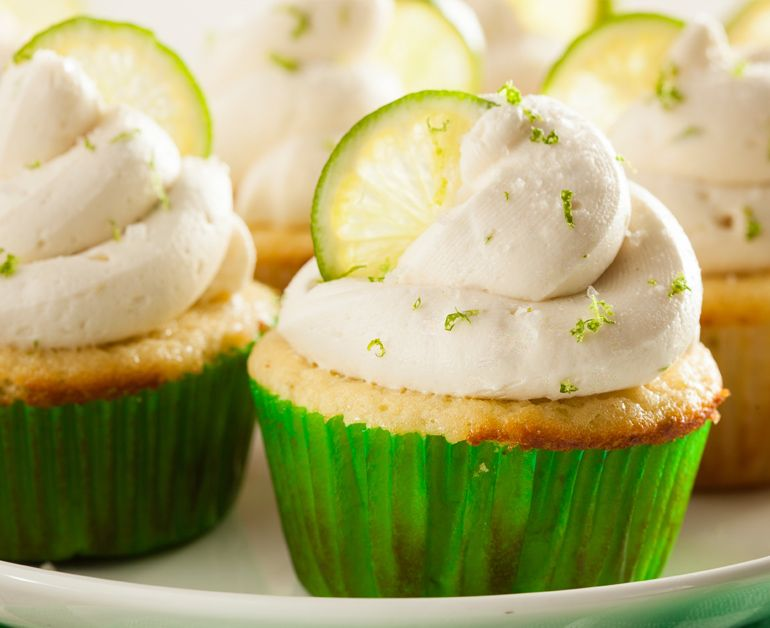 Key Lime Cupcakes Daisy Brand Sour Cream Cottage Cheese Recipe Margarita Cupcakes Margarita Cupcakes Recipe Desserts
