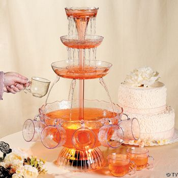 Cake And Punch Reception For Sure Dessert Bar And Punch With