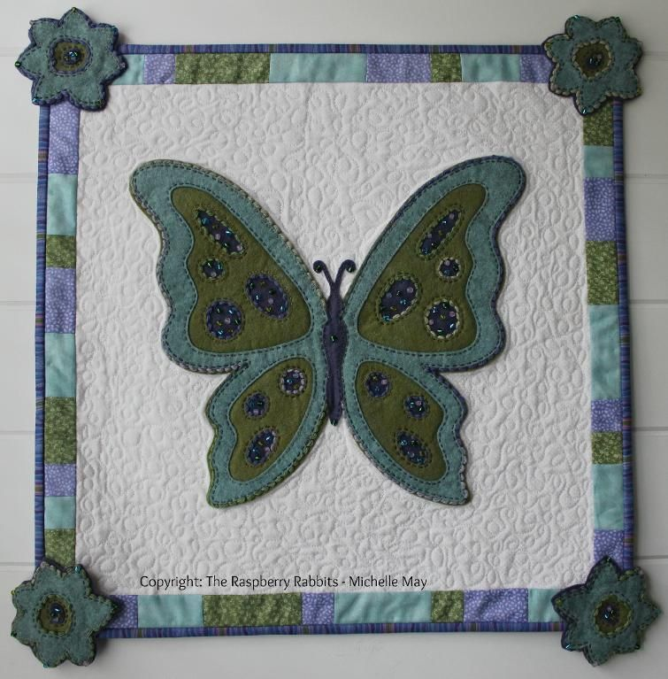 Looking for your next project? You're going to love Bridgette Butterfly by designer Michelle May .