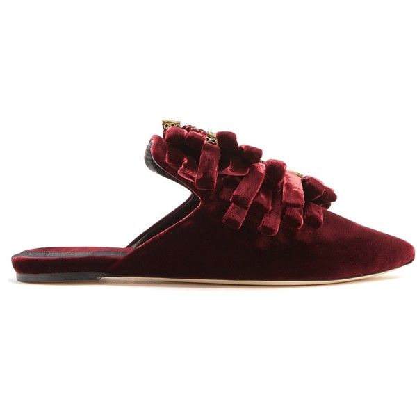 Cheap Sale Sast Clearance Discounts Sanayi 313 Drina velvet slipper shoes Discount Shop Offer Many Colors bQwAa8n