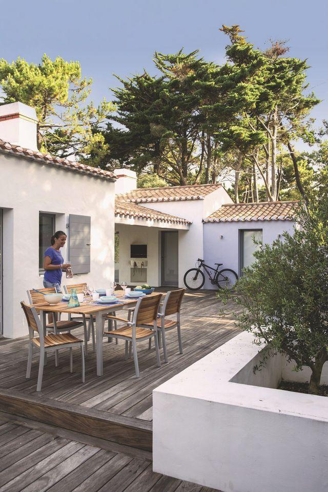 Ile de Ré  La Maison des Prises Extensions, Swimming pools and