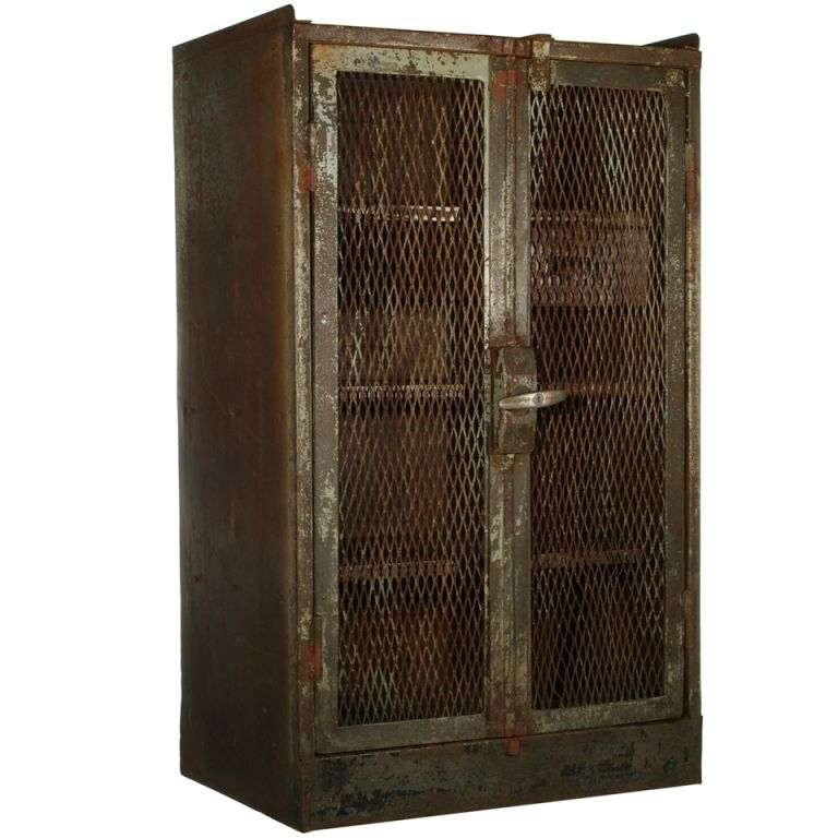 french industrial furniture. french railroad double door steel cabinet modern industrialindustrial furniturevintage industrial furniture