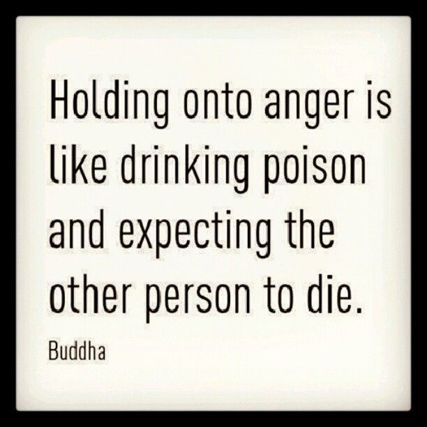 Letting go of anger releases a sea of wonderful; besides, those you are angry with rarely even know they are the offender.  Let Go and Get on with your life!
