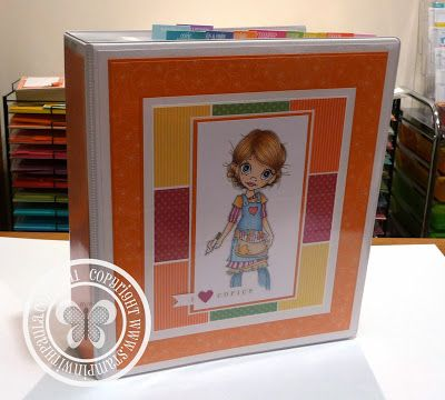 Stampin with Paula: Copic Marker Journal - Card making Binder