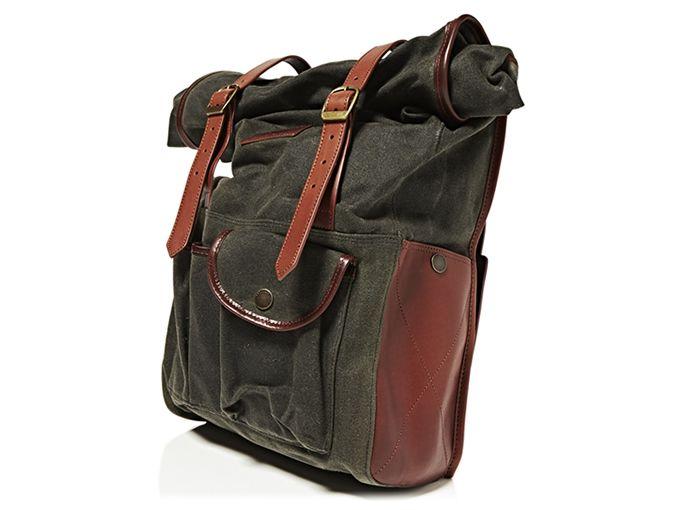 71c5f7a231315 Barbour x Deus Ex Machina - International Backpack Taschen