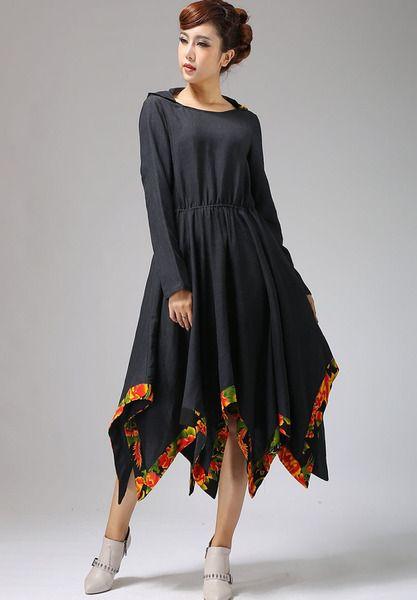 geblümt elegant Langes Kleid (698) von YanhuayueFashion ...