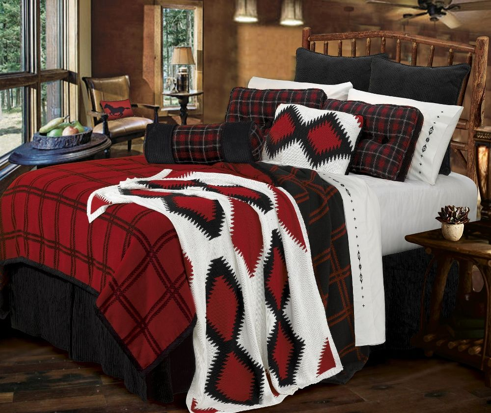 Dakota Bedding Ensemble At Rocky Mountain Cabin Decor Cool Ideas