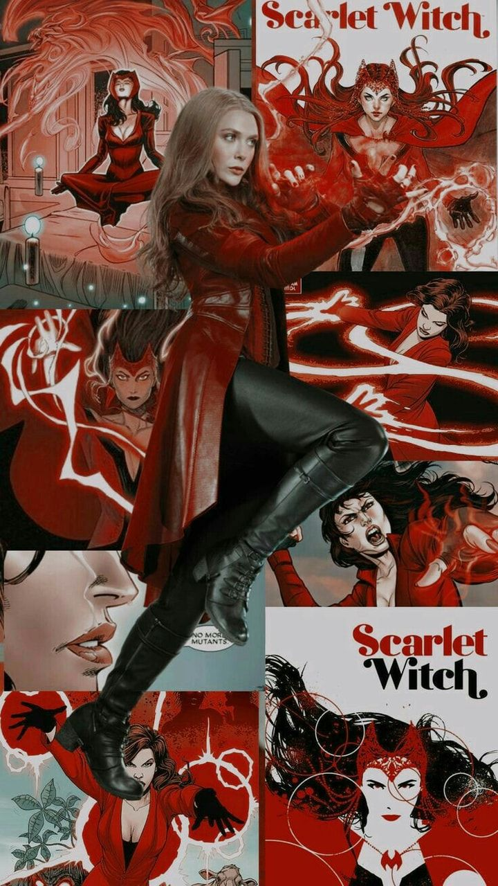 Scarlet Witch Wallpaper infinity war Gambar manga
