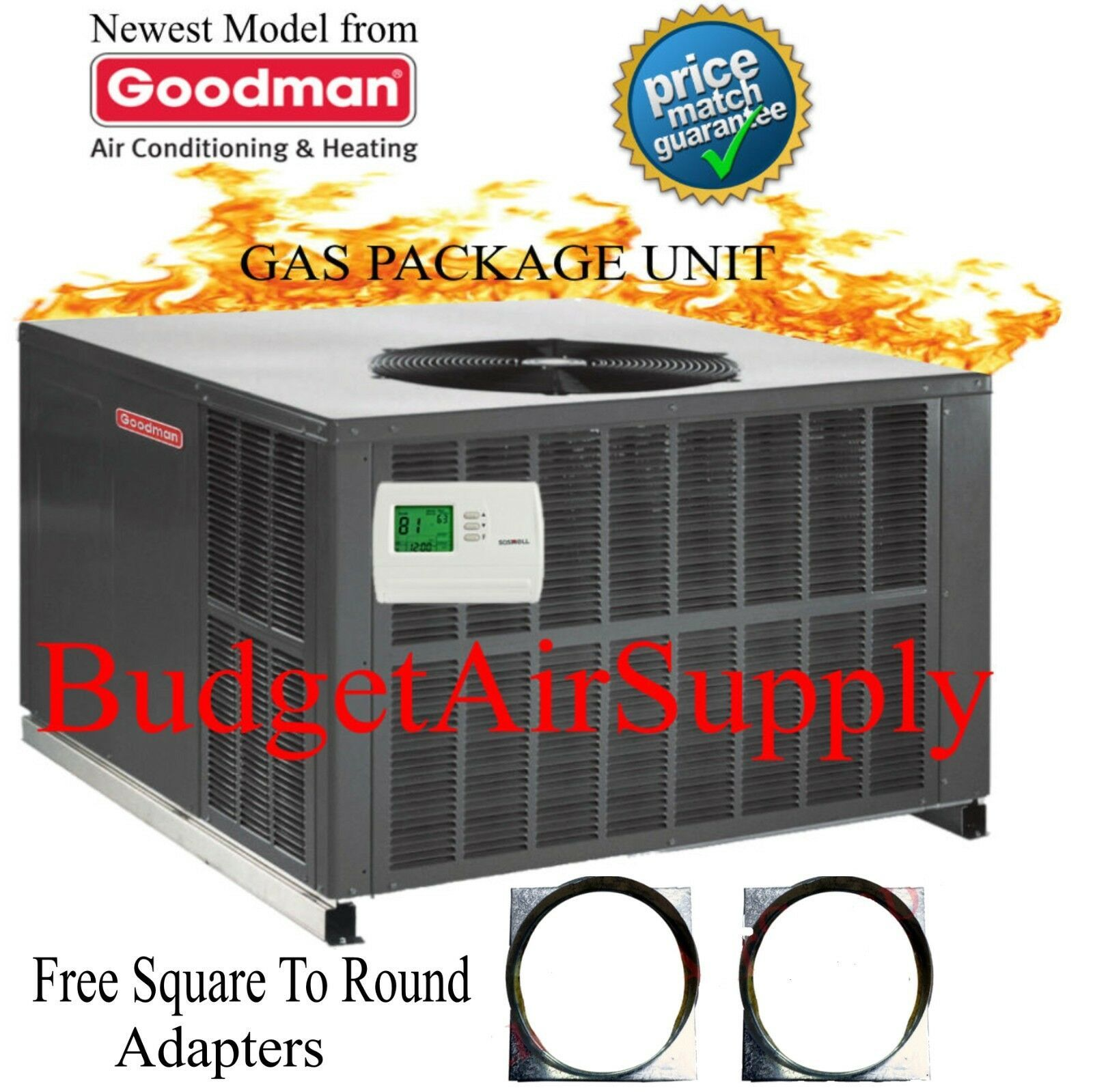 Gas Package Unit The Unit Packaging New Model