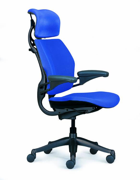 Fabulous Freedom Headrest Chair Humanscale Niels Diffrient Blue Ibusinesslaw Wood Chair Design Ideas Ibusinesslaworg