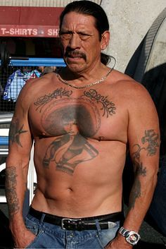 92be5104cc842 danny trejo sombrero tattoo - Google Search | Traditional Tattoos ...