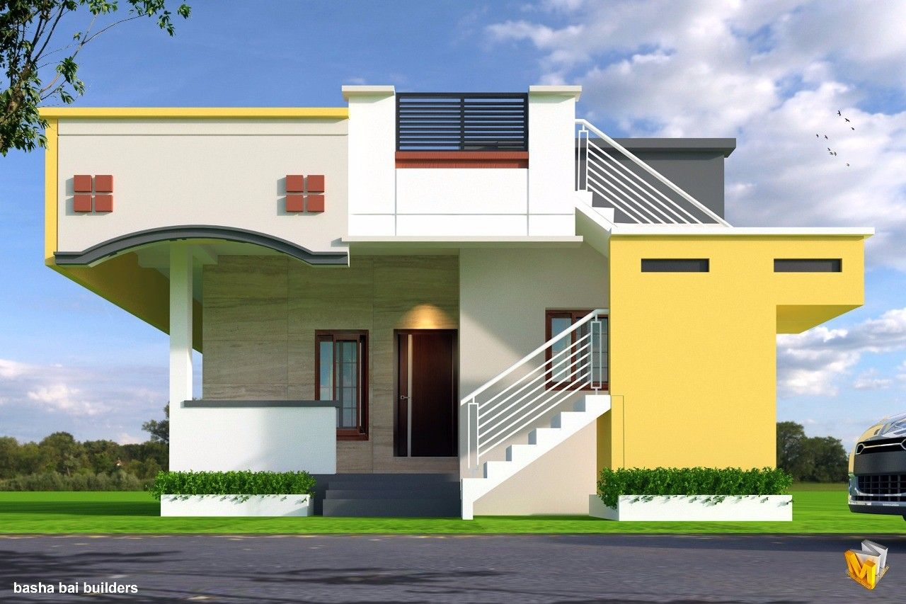 Pin By Lina Zahra Ahmad On Small House House Front Design | Front Staircase Design Home | House Plan | Porch Gallery | House Kerala | Outdoor | Ghar