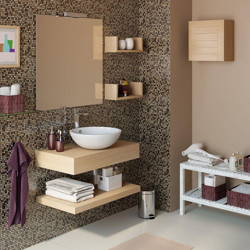 Hacer encimeras de madera para lavabos buscar con google ba o peque o pinterest - Encimera bano madera ...