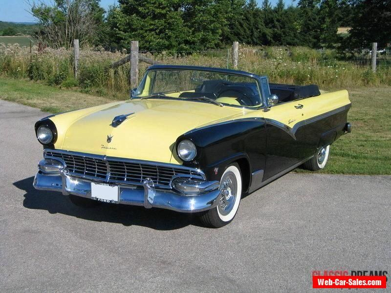 1956 Ford Fairlane Sunliner #ford #fairlane #forsale #canada | Cars ...